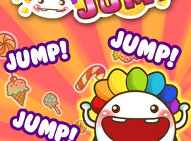 A Candy Jump Kingdom the Latest iPhone Game Release by Slightly Social